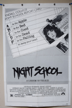 Night School Horror Poster - US One Sheet
